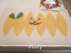 3d Large Pumpkin-handpainted Needlepoint Canvas-threads-stitch Guide