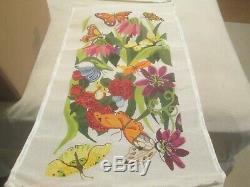 Butterfly Tote Bag-pischke-handpainted Needlepoint Canvas