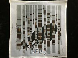 Charley Harper Hand-painted Needlepoint Canvas Bear in Birches/Threads