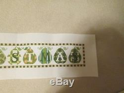 Christmas Banner-melissa Shirley-handpainted Needlepoint Canvas-st Guide-threads