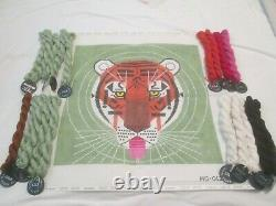 Cool Carnivore-charley Harper-handpainted Needlepoint Canvas-threads