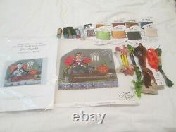 Dr. Acula-kelly Clark-handpainted Needlepoint Canvas-stitch Guide-threads