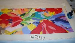 Fabulous Floral Rug by Jean Smith Hand Painted Needlepoint Canvas