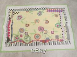 Floral Rug-penny Macleod-handpainted Needlepoint Canvas