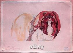 JG Dog Portrait by Kathryn Molineux HP Handpainted Needlepoint Canvas