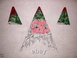 KW 1211 Santa Christmas Star by TS Designs HP Hand Painted Needlepoint Canvas
