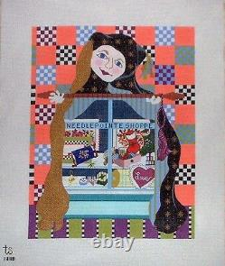 KW 1338 Gwenith Needlepoint Shoppe HP Hand Painted Needlepoint Canvas