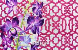 Kirk and bradley flower trellis needlepoint canvas- new retail $250 hand painted