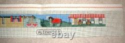 MZC Horse Competition Belt 18ct Mono HP Hand Painted Needlepoint Canvas