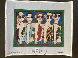 Maggie Co. /Jerry Fenter Hand-painted Needlepoint Canvas Let's Misbehave