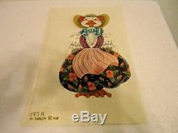 Melissa Shirley Hand Painted 2 Sided Mother Goose stand-up canvas Needlepoint