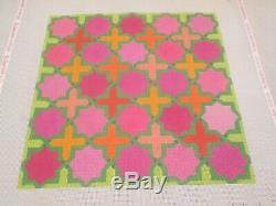 Moroccan Tiles-ksh Dickerson-handpainted Needlepoint Canvas