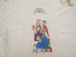 Nativity Triptych-strictly Christmas-handpainted Needlepoint Canvas