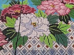 Needlepoint Canvas by LEE 27 by 22 Kimono hand-painted 14 count BEAUTIFUL