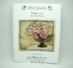 Needlepoint HandPainted Sandra Gilmore Pretty with Stitch Guide 9x10