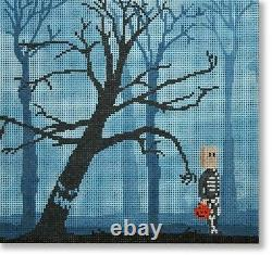 Needlepoint Handpainted Halloween CBK Gimme Your Candy