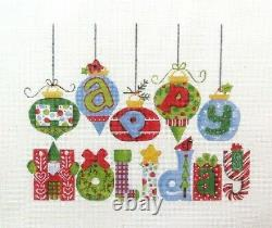 Painted Pony / Diane Kater Happy Holiday Handpainted Needlepoint Canvas