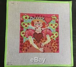 Queen of Hearts MELISSA SHIRLEY DESIGNS 1189 T Needlepoint HandPainted Canvas