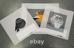 Set of 3 Birds The Meredith Collection Hand painted Needlepoint Canvases