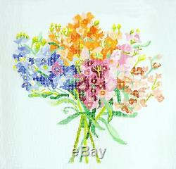 Summer Stock LG. Handpainted 13m Needlepoint Canvas by Jean Smith's Designs