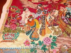 Susan Treglown! Needlepoint, Inc San Francisco Lg. Handpainted Asian Canvas