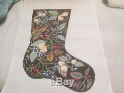 Victorian Christmas Stocking-share One's Ideas-handpainted Needlepoint Canvas