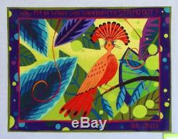 Zecca What Fit In When You Were Born To Stand Out Hand Painted Needlepoint